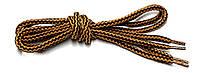 Шнурки Чорно рудий круглі 120см 5мм Kiwi, фото 1
