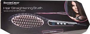 Расческа выпрямитель Silvercrest hair straightening brush