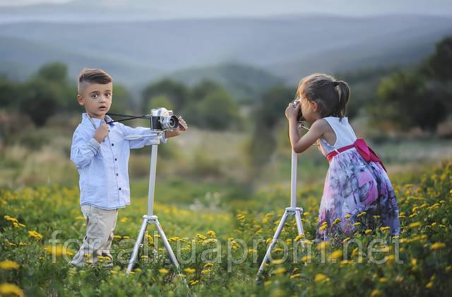 Фото дети с камерой