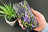 Чехол на iPhone с рельефным принтом Violet, фото 5
