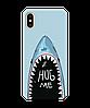 Чехол на iPhone с рельефным принтом Hug Me, фото 2