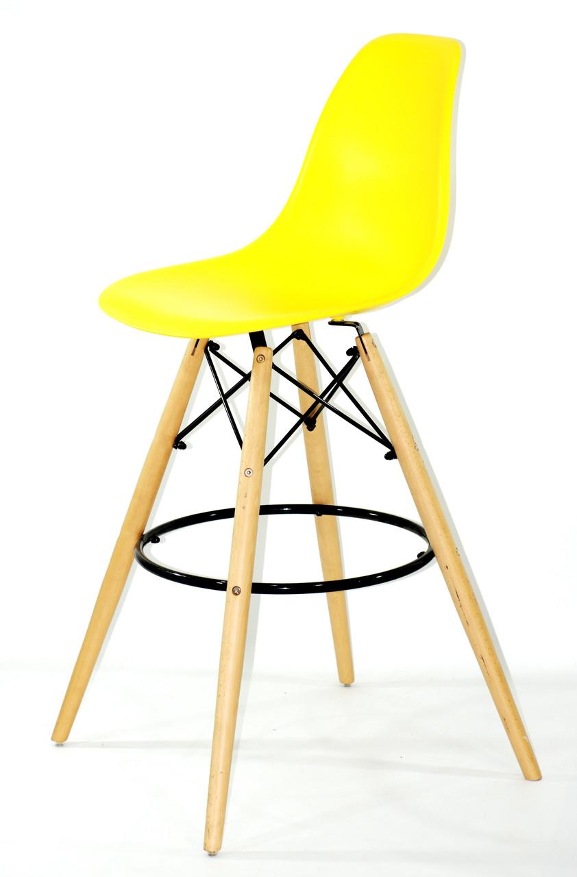 Барний стілець Nik Eames, яскраво-жовтий
