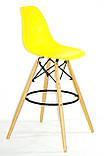 Барний стілець Nik Eames, яскраво-жовтий, фото 3
