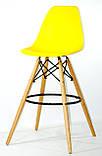 Барний стілець Nik Eames, яскраво-жовтий, фото 2