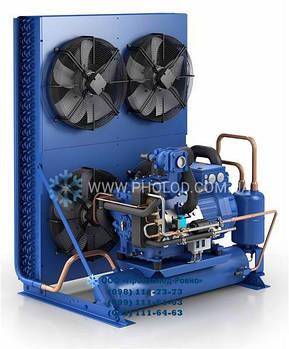 Компрессорно-конденсаторный агрегат с двухступенчатым компрессорам GEA Bock SHGZX7/1860-4L (14628)