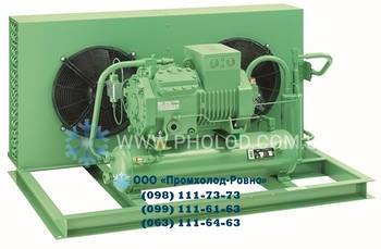 Компрессорно-конденсаторный агрегат на базе компрессора Bitzer AA-BK-135/6HE-28Y
