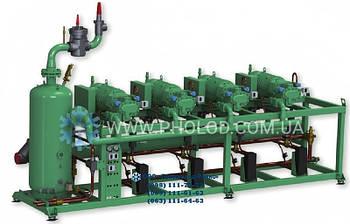 4-х компрессорная станция на базе низкотемпературных винтовых компрессоров Bitzer HSN8591-160