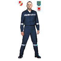 Огнестойкий костюм пожарного полевой Pfeifer ADAS® blau antistat. Австрия, оригинал.