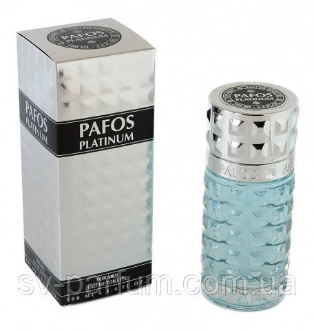 Туалетная вода мужская Pafos Platinum 100ml
