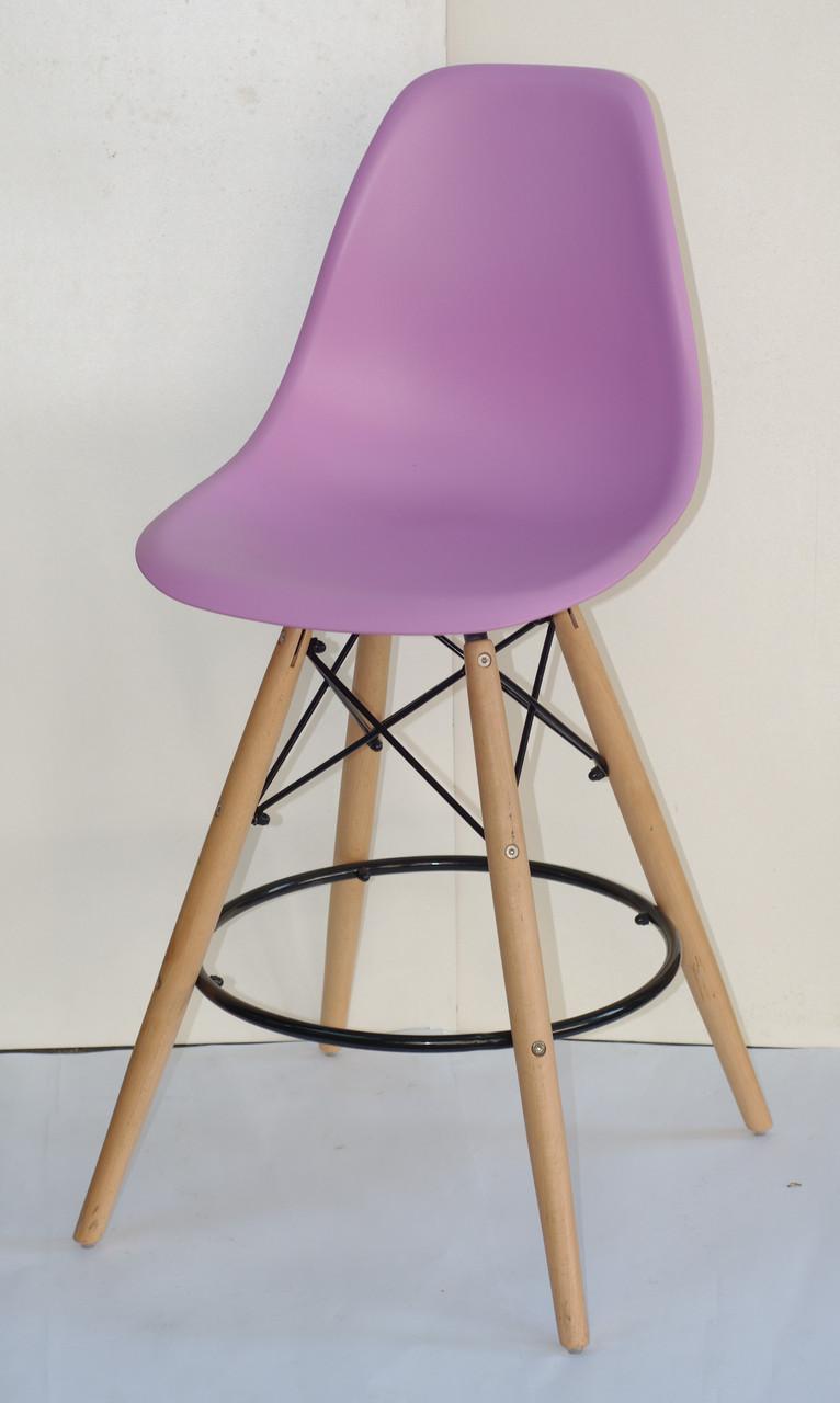 Полубарный стул Nik Eames, лиловый