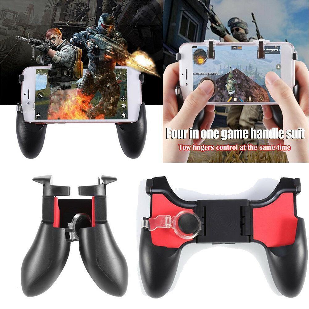 Мобильный геймпад джойстик MGC PUBG Mobile тригеры 5в1, беспроводной игровой джостик для моб телефона +подарок