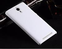 Пластиковый чехол для Lenovo P90 белый