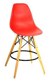 Полубарный стул Nik, красный