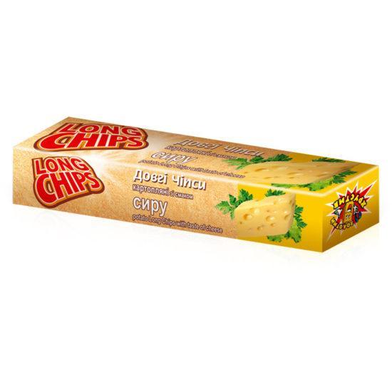 Чипсы пластинки картофельные со вкусом сыра  50г