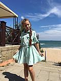 Нарядное детское летнее платье,ткань супер софт,размеры:134,140,146,152., фото 2