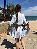 Нарядное детское летнее платье,ткань супер софт,размеры:134,140,146,152., фото 4