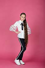 Красивые брюки в школу для девочки. 184246A