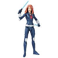 Оригинальная фигурка Черная Вдова Марвел Marvel Avengers Black Widow 15 см B9939