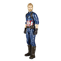 Фигурка Капитан Америка Мстители Война Бесконечности Марвел 30см Captain America Marvel E1421