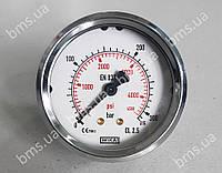 Манометр гліцериновий (гідравліка, робочий тиск; BMS Sigma B/BS), фото 1