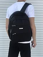 Городской стильный рюкзак в школу или студентам черный