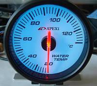 Указатель температуры воды стрелочный APEXI 25602 черный Ø60мм прибор датчик автомобильный