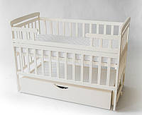 Кровать-трансформер с ящиком цвет ваниль от производителя Дитячий сон в детскую комнату, фото 1