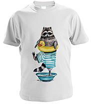 """Сімейні футболки """"Сім'я Єнотиков"""", фото 2"""