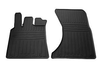 Коврики в салон резиновые передние для Porsche Macan 2014- Stingray (2шт)