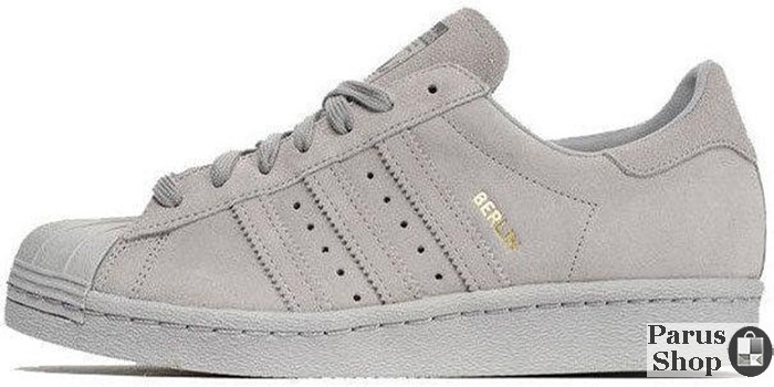great deals delicate colors uk cheap sale Мужские кроссовки Adidas Superstar 80s City Pack Berlin Grey