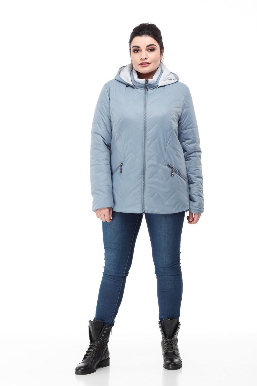 Красивая короткая куртка Большие размеры осенняя 48,50,52,54,56,58,60
