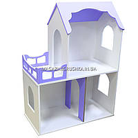 Игрушечный кукольный деревянный домик Мишель 2. Обустройте домик для кукол