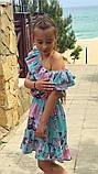 Легкое летнее детское платье,ткань супер софт,размеры:134,140,146,152., фото 9
