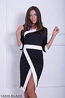 Оригинальное женское платье с принтом в стиле кимоно Hellebor