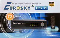 ТВ-ресивер тюнер Eurosky ES-15  (Гарантия 1год)