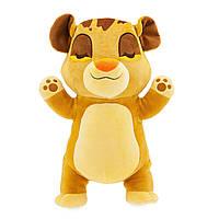 Мягкая подушка-игрушка для обнимашек Лев Симба Король Лев 35 см Дисней Disney Simba Cuddleez 1234041282575P