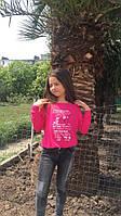 Модный детский свитшот,ткань трикотаж,размеры:134,140,146., фото 1