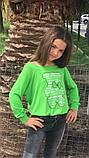 Модный детский свитшот,ткань трикотаж,размеры:134,140,146., фото 3