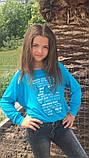 Модный детский свитшот,ткань трикотаж,размеры:134,140,146., фото 4