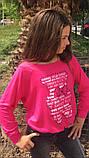 Модный детский свитшот,ткань трикотаж,размеры:134,140,146., фото 5