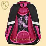 Рюкзак школьный Miqini 22л Чёрный (M312), фото 4