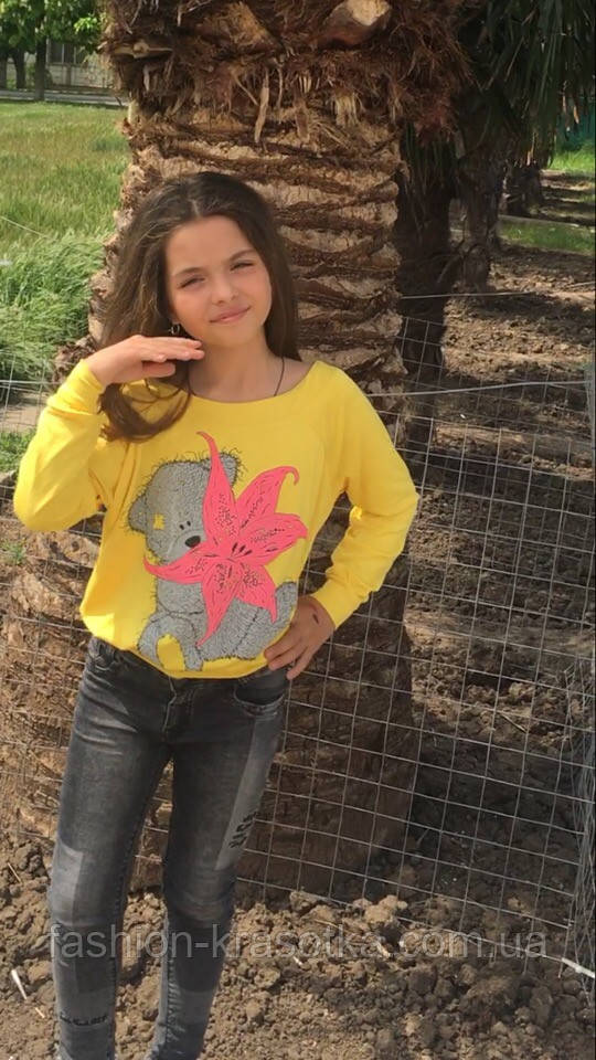 Детский свитшот,ткань трикотаж,размеры:134,140,146.
