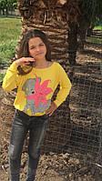 Детский свитшот,ткань трикотаж,размеры:134,140,146., фото 1