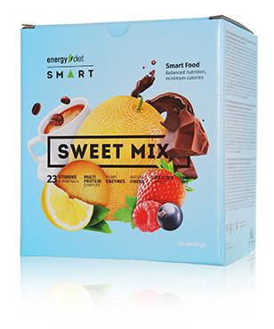 Заменитель питания Energy Diet Smart Sweet Mix blue 5 вкусов энерджи диет енерджи коктейль микс для похудения