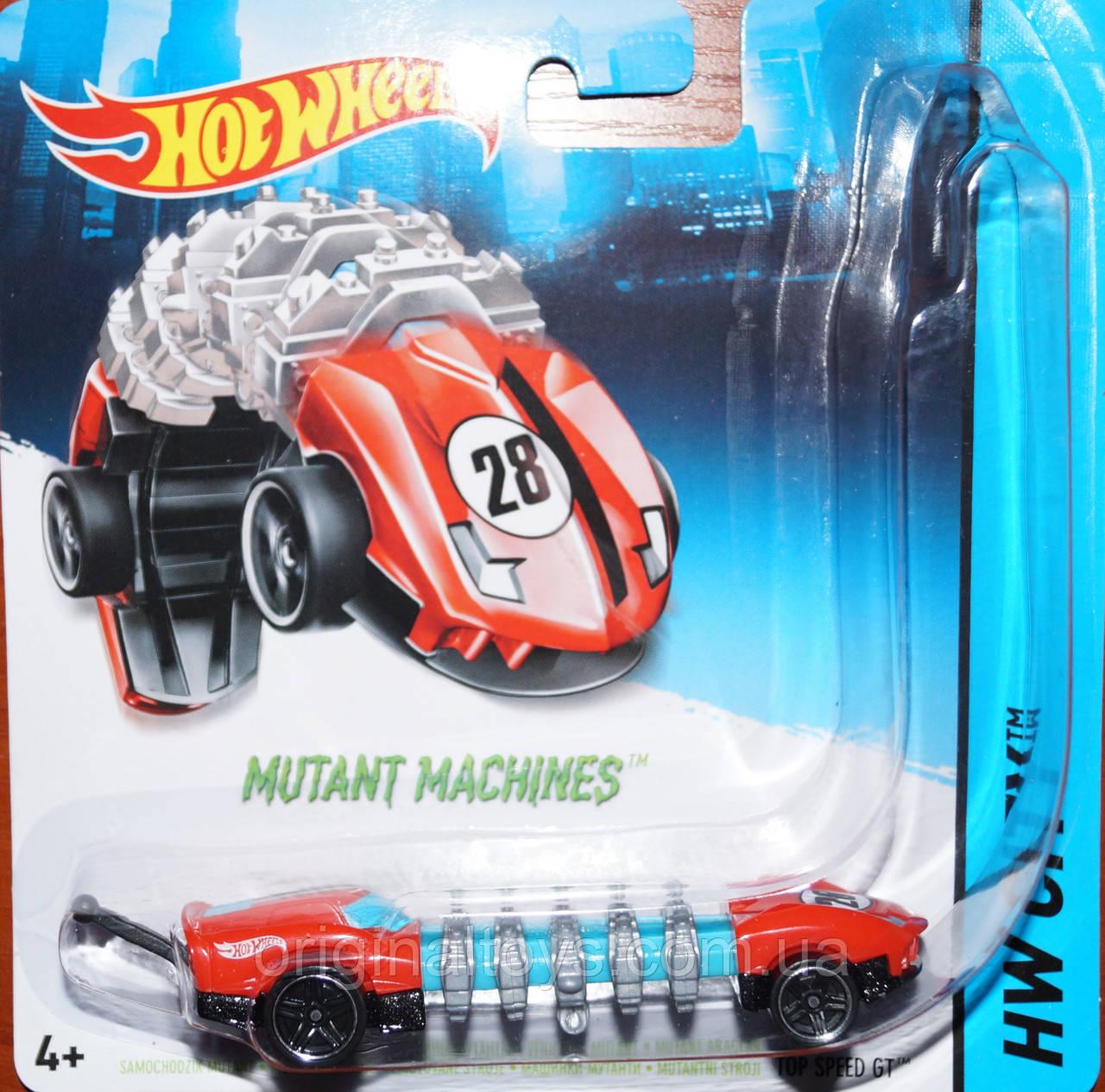 "Машинки Hot Wheels ""Мутант"" Top Speed GT BBY78"