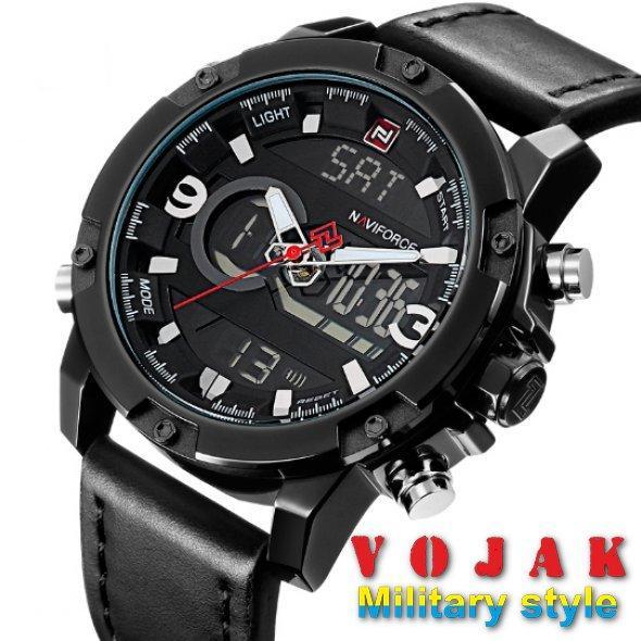 Часы Naviforce Kosmos Black NF9097