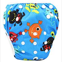 Многоразовые трусики- подгузник для плавания, фото 1