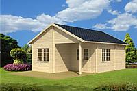Дом деревянный из профилированного бруса 5х7. Скидка на домокомплекты на 2020 год
