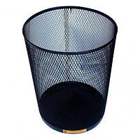 Корзина для мусора стальная чёрная