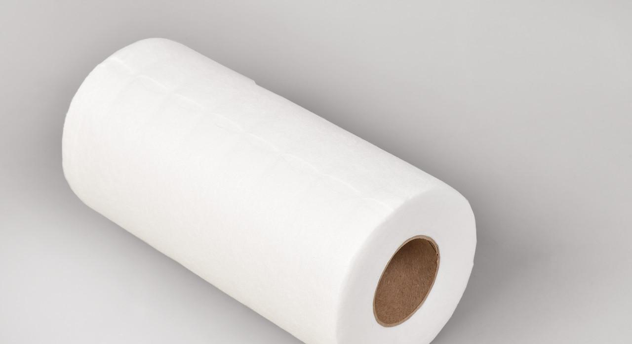 Салфетки в рулоне одноразовые 20х20см Polix PRO&MED (100 шт/рул) со спанлейса 40 г/м2 с перфорацией 1000 ШТ 10 УП Сетка